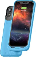 mophie juice pack Air  - MFI Certified - Wireless Charging - Protective Battery Pack Case for Apple iPhone Xr – Blue