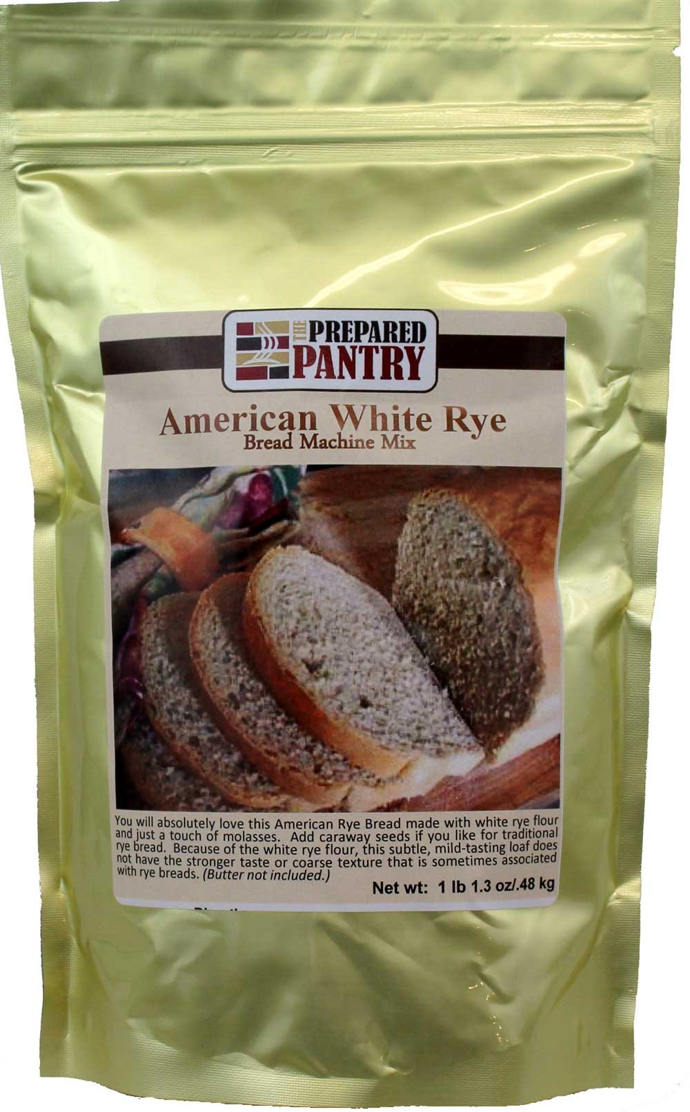 The Prepared Pantry American White Rye Bread Machine Mix, 17.3 Ounce (Pack of 20)