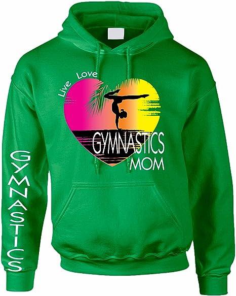 Pullover Hoodie Sweatshirts Pocket 1 Unisex Sweater Kids 3D Print Gymnastics Gymnasts