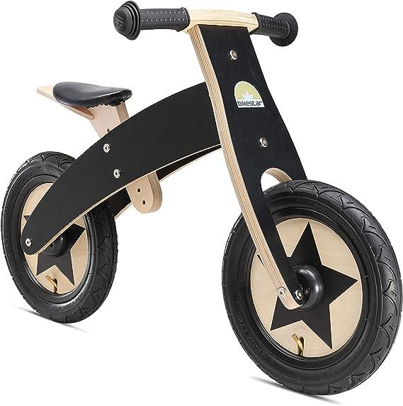BIKESTAR Bicicleta sin Pedales para niños y niñas | Bici Madera 12 ...