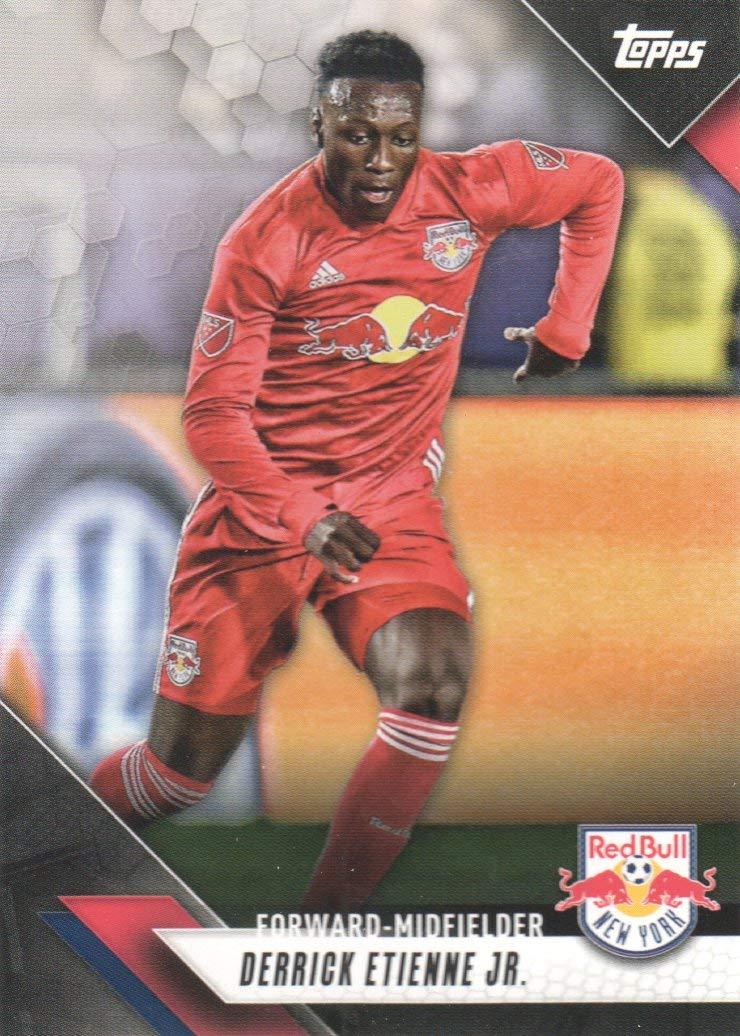 2019 Topps Mls Soccer 144 Derrick Etienne Jr New York Red Bulls At