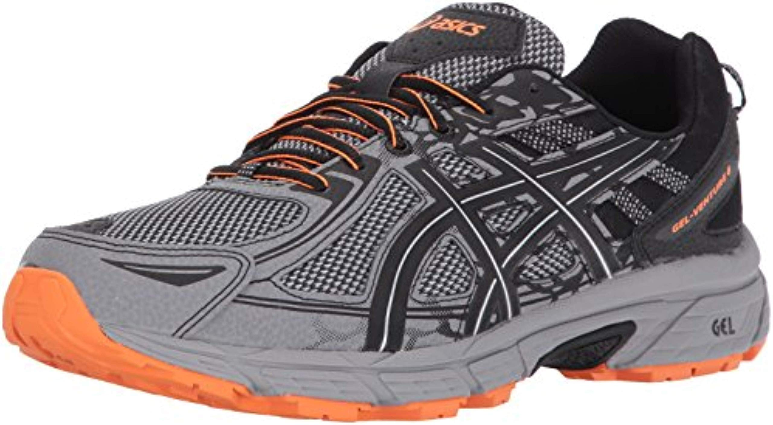 ASICS Mens Gel-Venture 6 Running Shoe, Frost Grey/Phantom/Black, 11.5 by ASICS