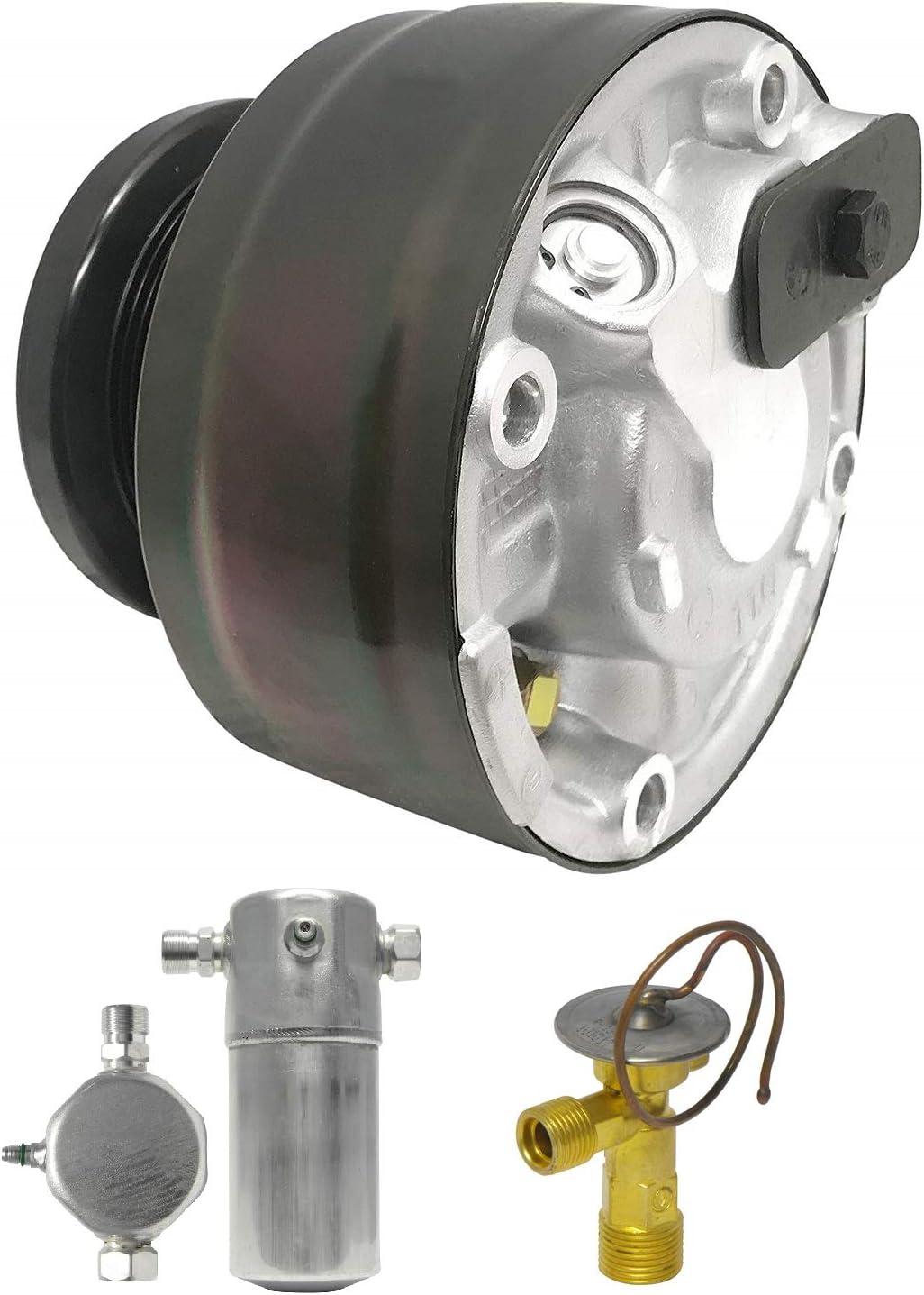 RYC Remanufactured AC Compressor Kit KT BC76
