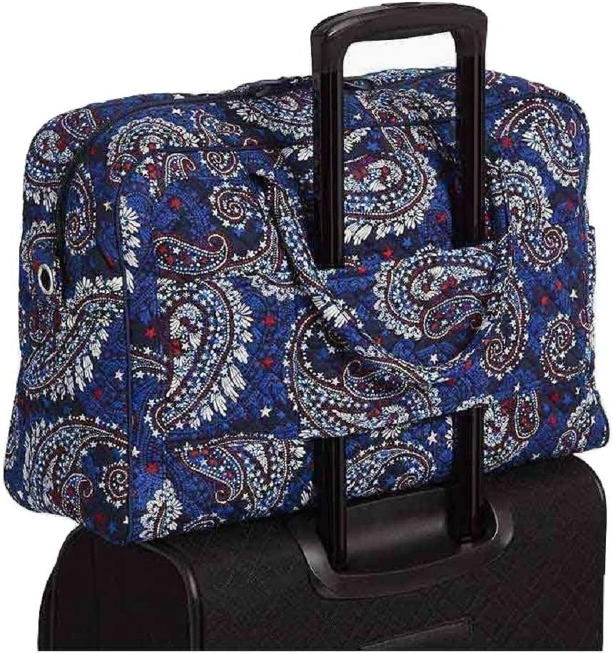 Portable Luggage Duffel Bag Beauty And Fireworks Travel Bags Carry-on In Trolley Handle