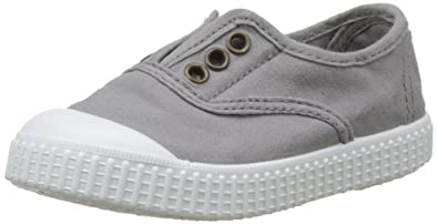 victoria Inglesa Lona Tenida Punt, Unisex - Kinder Sneaker, Grau (Gris), 21 EU
