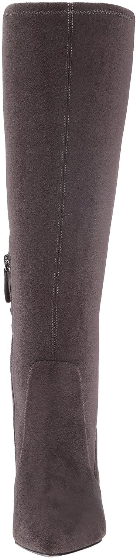 Nine West Women's Calla Fabric Knee-High Boot B01F4VQN1O 6.5 B(M) US|Grey