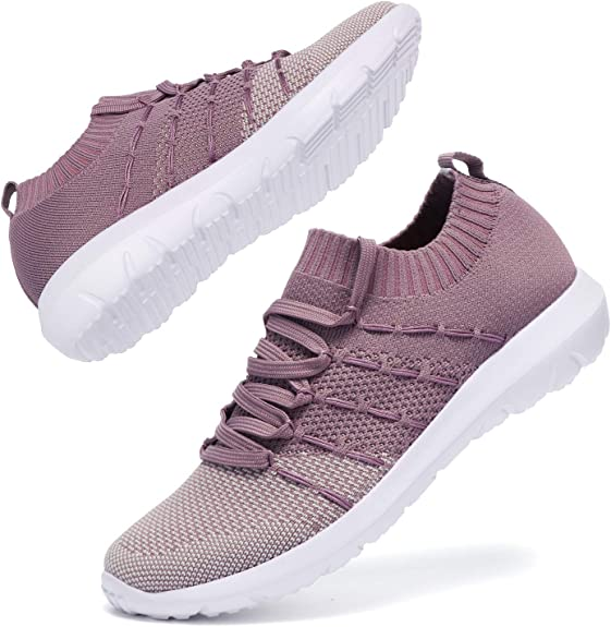 BEATIFIC BEE Fashion Sneakers Lightweight Breathable Sports Shoes Comfortable Work Shoes Women Walking Shoes