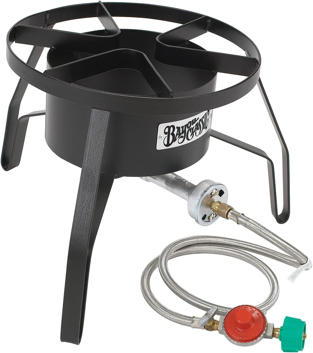 "Bayou Classic High Pressure Cooker, 14"" wide, 10 psi SP10 Cooker"