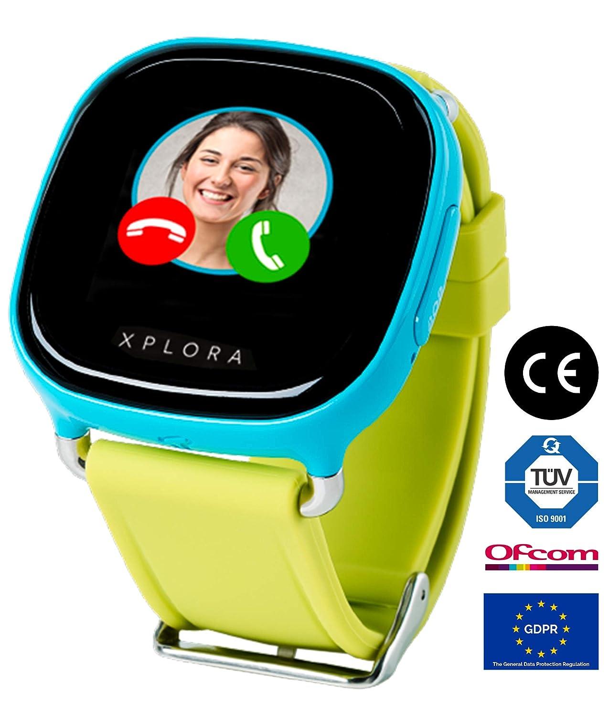 XPLORA Smartwatch para niños, SIM no incluida (AZUL): Amazon.es ...