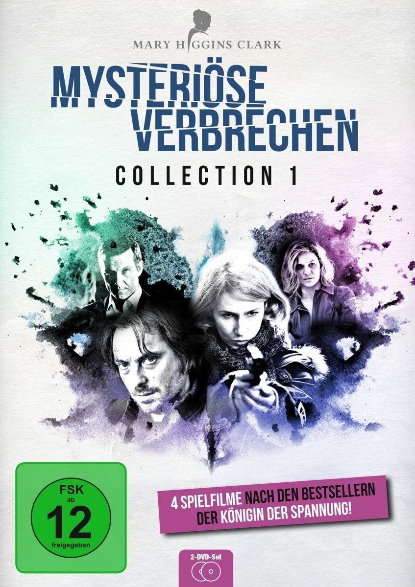 Cover: Mary Higgins Clark - mysteriöse Verbrechen 2 DVD-Videos (circa 360 min)