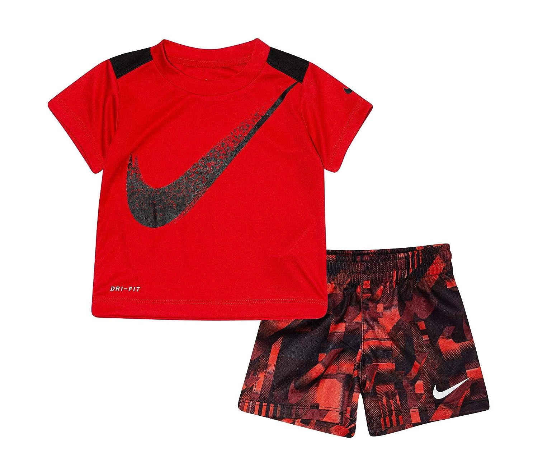 Nike Boy`s Dri-Fit T-Shirt /& Shorts 2 Piece Set