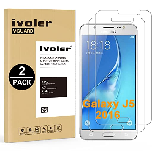 239 opinioni per [2 Pack] Pellicola Vetro Temperato Samsung Galaxy J5 2016, iVoler® **