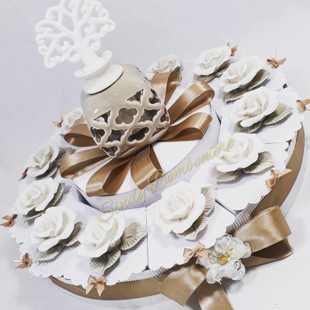 Seleccione de las marcas más nuevas como Torta Torta Torta Da 48 Fette Bomboniere solidali Porcelana confezionati a forma de tarta  hasta un 70% de descuento