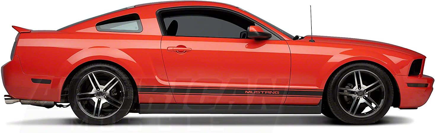 "Steadfast Auto 14/"" Mustang Short Antenna 1979-2009 Mustangs Black"