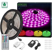 Minger SMD 5050 16.4ft Waterproof LED Strip Light