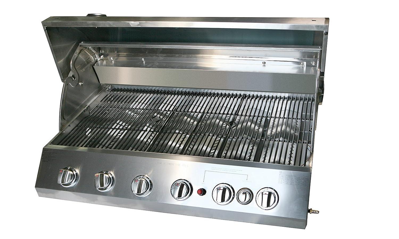 Rezepte Für Gasgrill Mit Haube : Gasgrill texas außenküche grill 6 burner grill bbg edelstahl garten