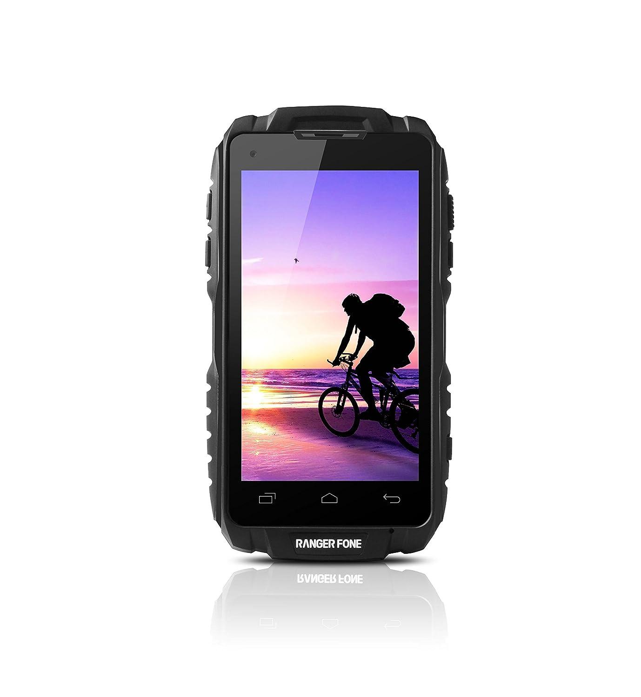 Rangerfone S18 Rugged Smartphone IP68 4G-LTE SIM Free 2G+16G Quad Core  1 3GHz 13MP+5MP Camera Temperature/Humidity/Altitude Measure Sensors  3500mAh