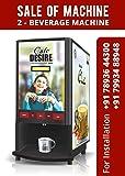 Cafe Desire Coffee and Tea Vending Machine with 1kg Premix (Multicolour, CDCTVMOR)