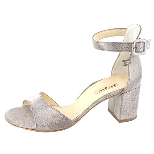 where to buy new high quality buying new Paul Green Damen Sandaletten Pumps 6969-039 4 Silber 231994 ...