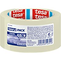 Tesa PP STRONG, 66 m x 50 mm, Transparant