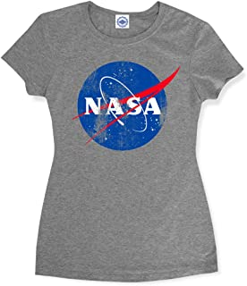 product image for Hank Player U.S.A. Official NASA Logo Women's T-Shirt