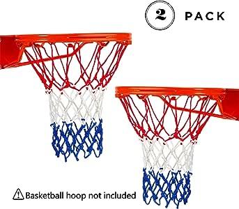 New Standard Nylon Basketball Thread Goal Hoop Net Outdoor Hanging Rim Backboard