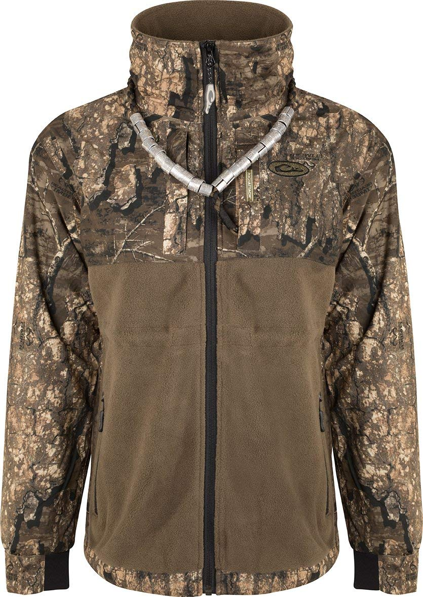 Drake Women's MST Eqwaderplus Full Zip Realtree Timber MD by Drake