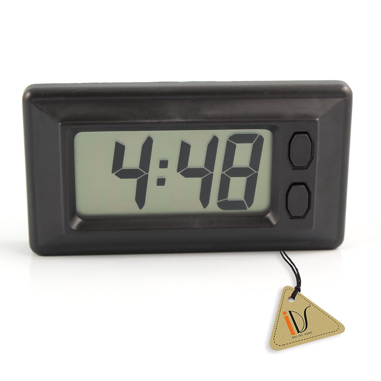LCD Digital Clock w/ Calendar Display for Car Dashboard IDS Home