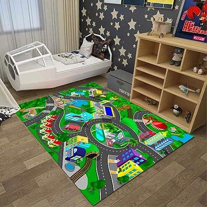 Amazon.com: ZDD Rectangular Kids Room Carpet Princess Room ...