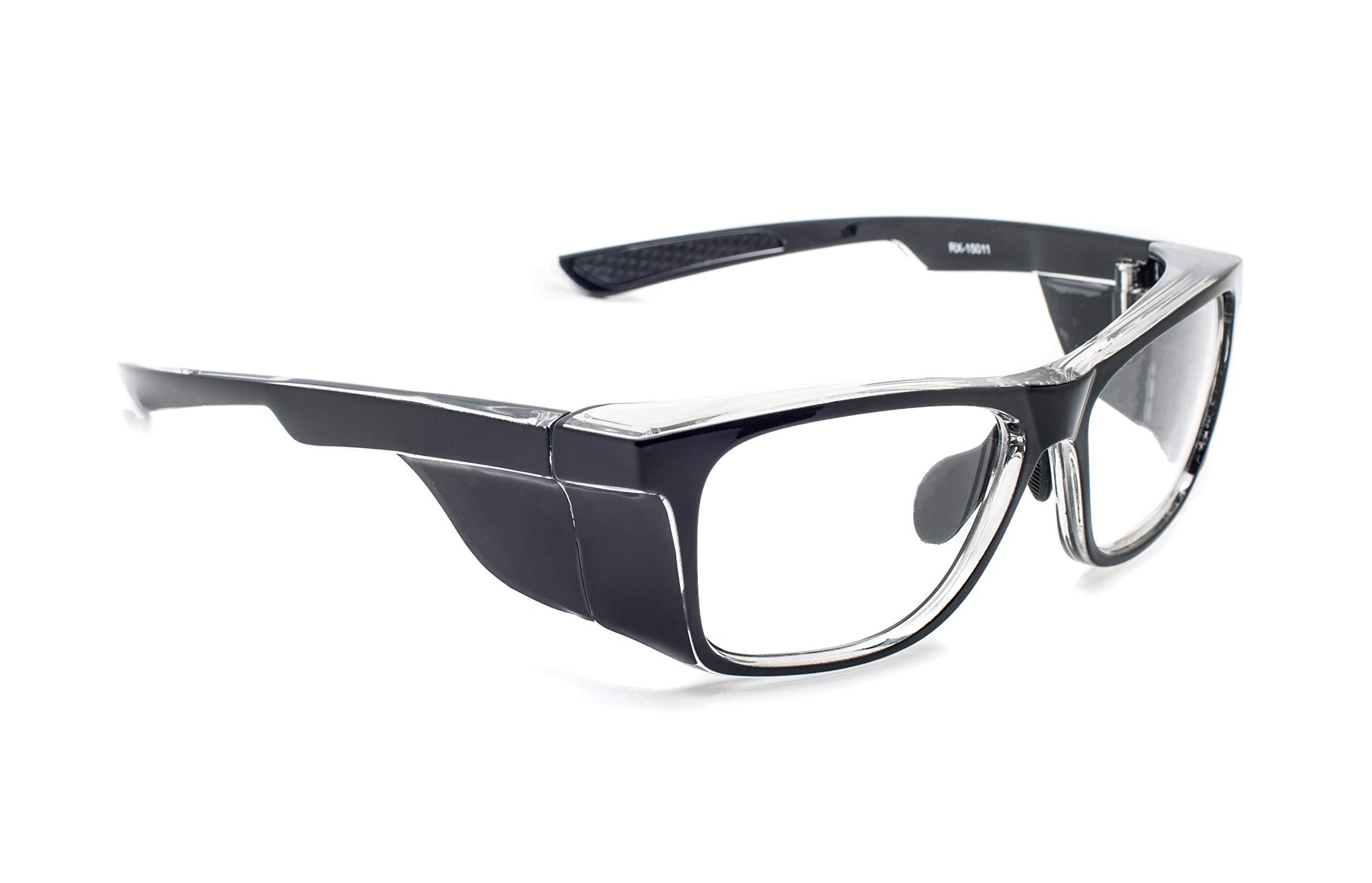 Leaded Glasses Radiation Safety Eyewear RG-15011-BK