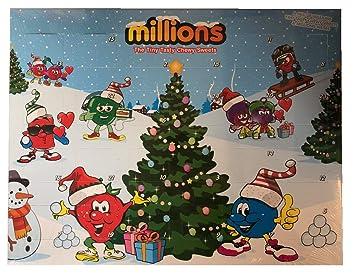 Calendario Adviento Infantil.Millions Dulces Infantil Navidad Calendario Adviento 2017