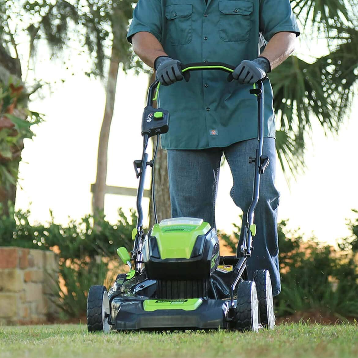 greenworks 80v mower review