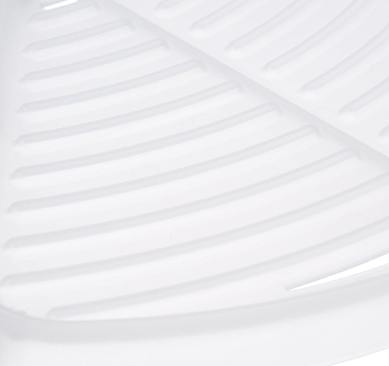 Bianco Basics Cestello angolare per doccia