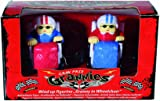 Perfect Present Gift Idea For Christmas, Xmas, Stocking Filler, Secret Santa, Birthday, Mothers Day, Anniversary, or Valentines - Best Seller Office Toys Novelty Wind Up Grand Prix Grannies Toy - Woman Women Lady Ladies Her - One Set Supplied