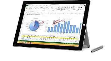Amazon Com Microsoft Surface Pro 3 Mq2 00001 12 Inch Full Hd 128