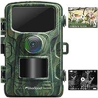 """usogood Wildkamera 14MP 1080P mit Bewegungsmelder Nachtsicht No Glow IP66 Spray wasserdicht 2.4"""" LCD für Outdoor-Natur, Garten, Haussicherheitsüberwachung"""