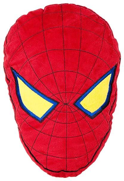 Character World - Cojín con forma de Spiderman (39,5 x 28,5 cm)