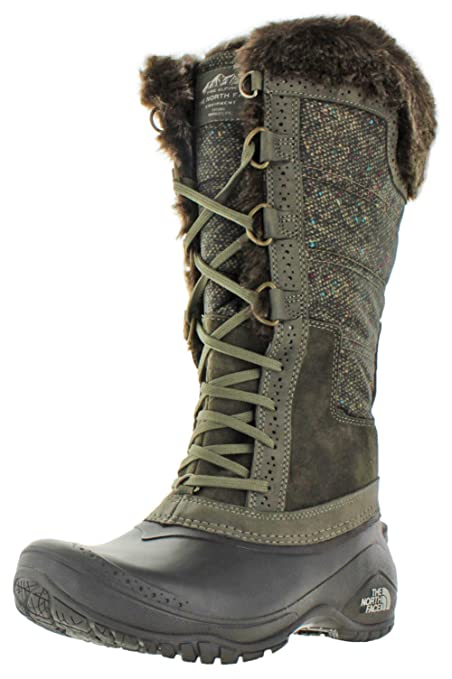 c2752a25b The North Face Women's Shellista II Tall Weimaraner Brown/Dove Grey (Prior  Season) 6.5 B US B (M)