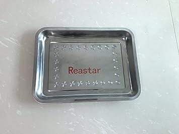 Edelstahl Grillplatte Für Gasgrill : Reastar universal edelstahl grillplatte bbq plancha rechteckig