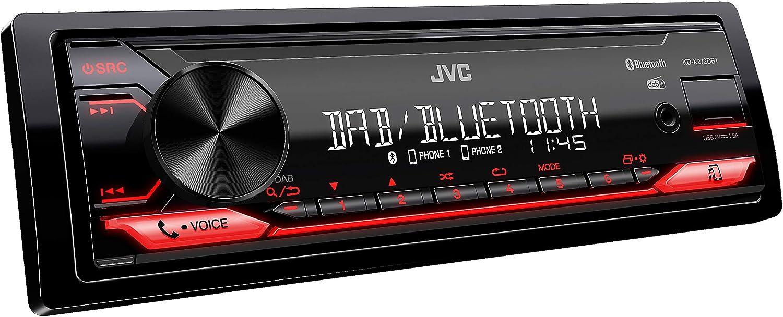 JVC KD-X272DBT, autoradio digitale con DAB+ e Bluetooth: Amazon.it