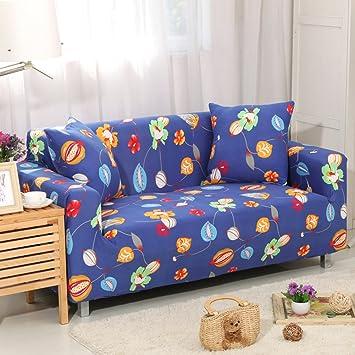 DW&HX Funda de sofá marrón del Estiramiento,Todo-en-uno ...