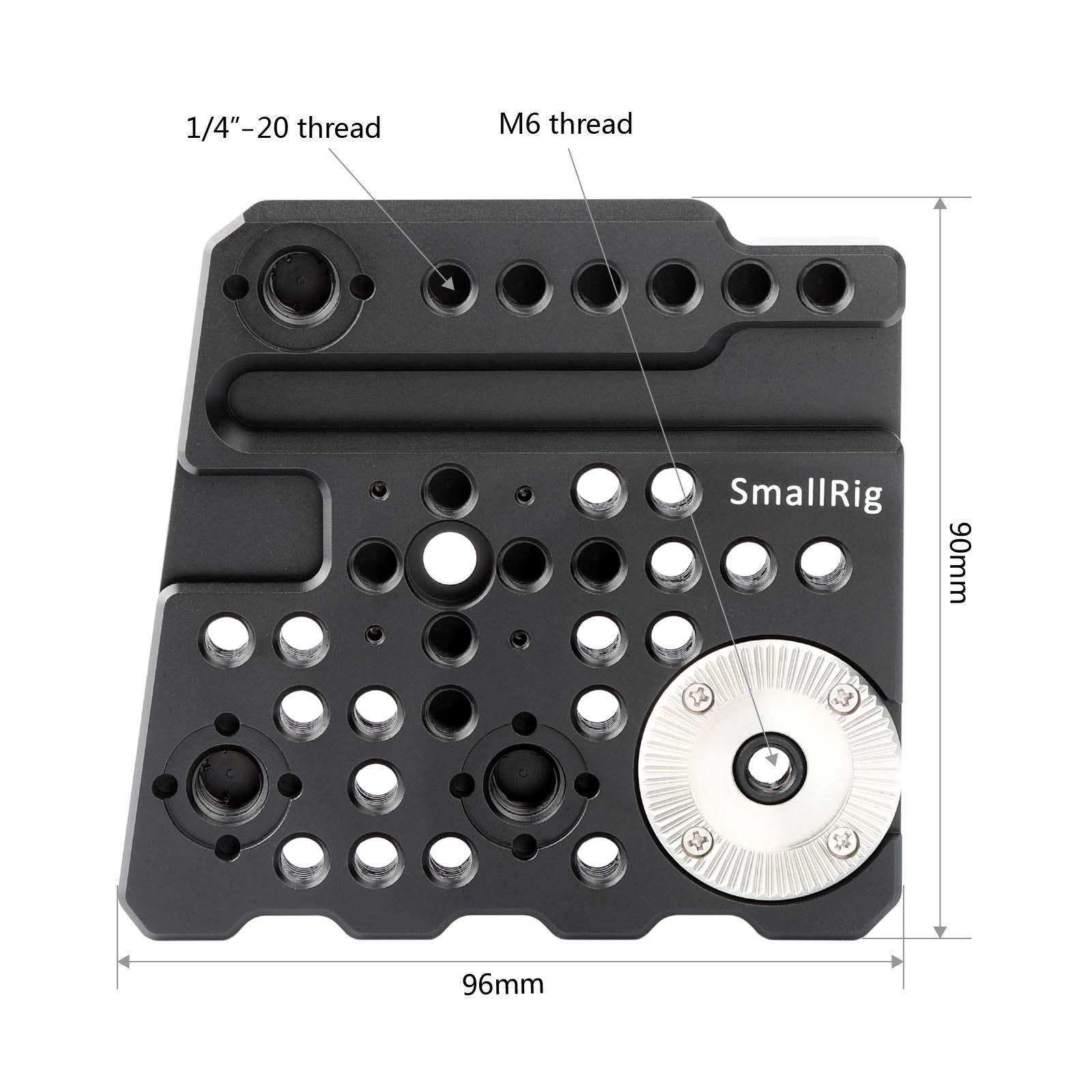 SMALLRIG Rosette Side Plate for BlackMagic URSA Mini, URSA Mini Pro Camera- 1854 by SmallRig (Image #4)