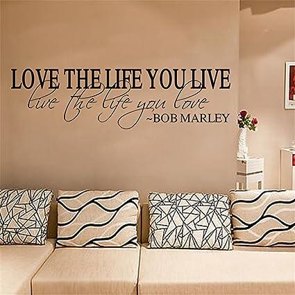 Amazoncom Lanue Love The Life You Live Live The Life You Love Bob