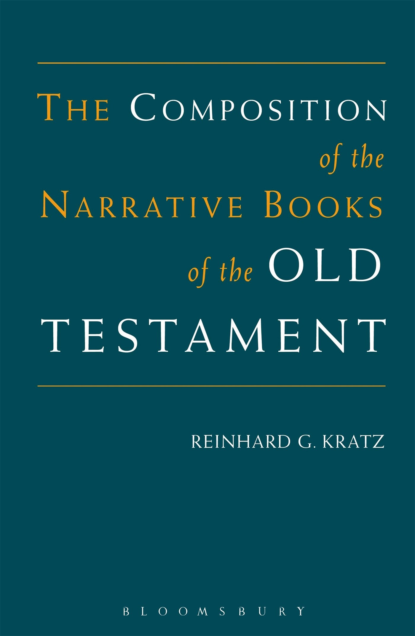Composition Of The Narrative Books Of The Old Testament