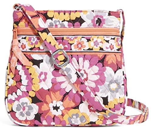 Vera Bradley Petite Double Zip Hipster Crossbody Bag