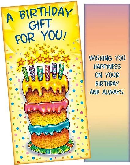 Tarjeta de cumpleaños con soporte para dinero - 089505 ...