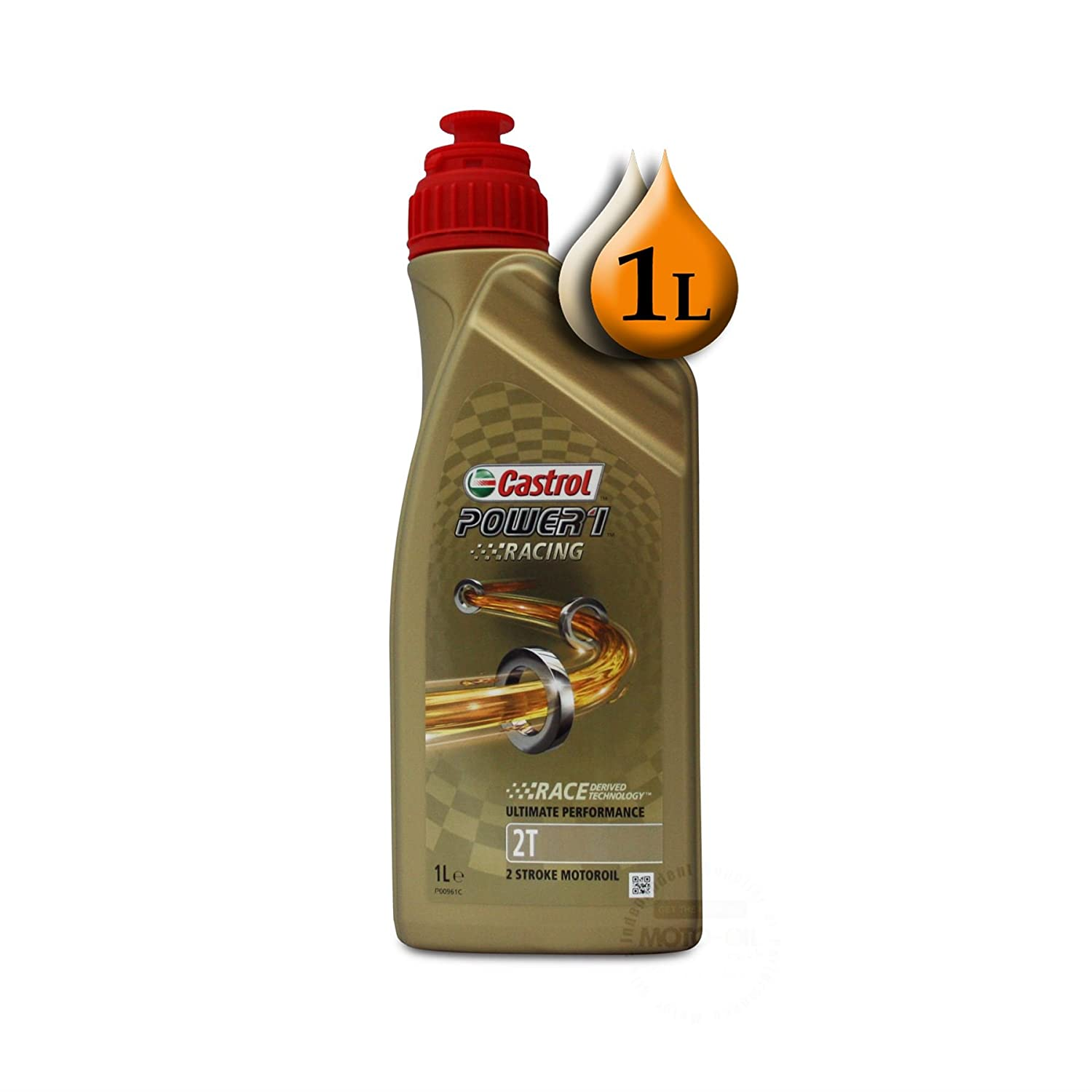 Castrol Power 1 Racing 2T 1Lb: Amazon.es: Coche y moto