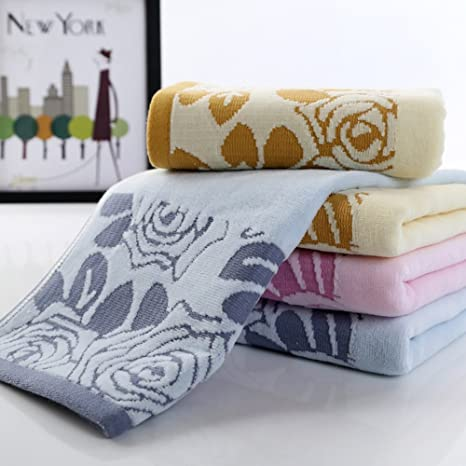 120 gramos de excelente calidad exquisita sano algodón toalla 1 juego azul