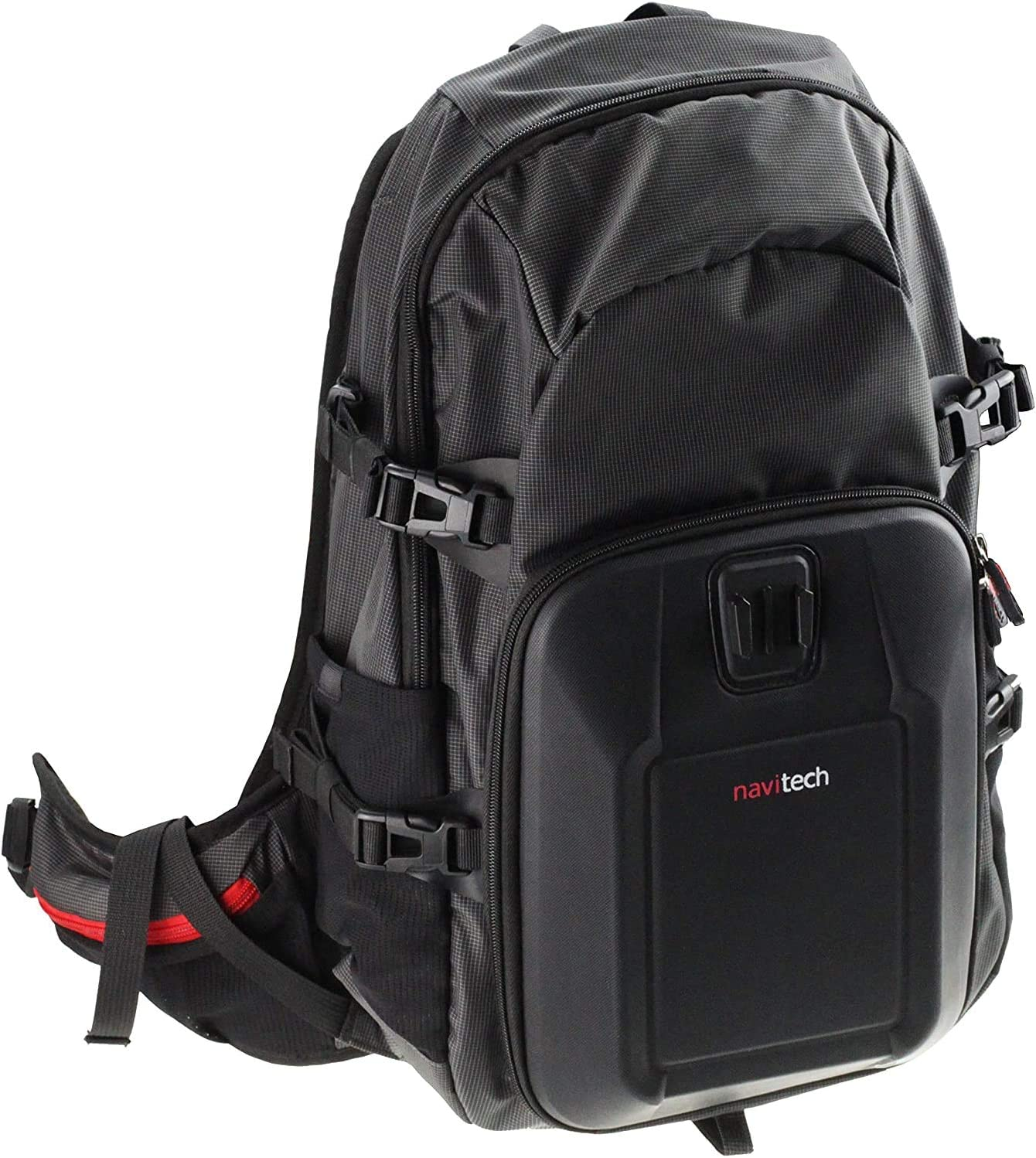 Navitech Action Camera Backpack /& 18-in-1 Accessory Combo Kit with Integrated Chest Strap Compatible with The Tomtom Bandit