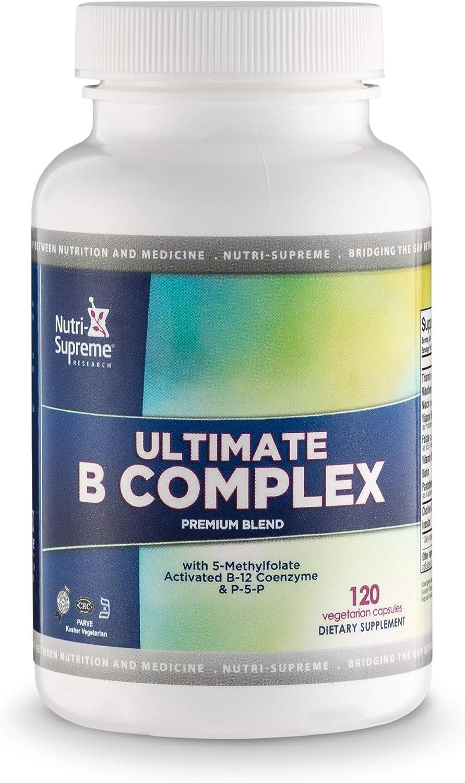 Ultimate B Complex 120 Vegetarian Capsules – Certified Kosher